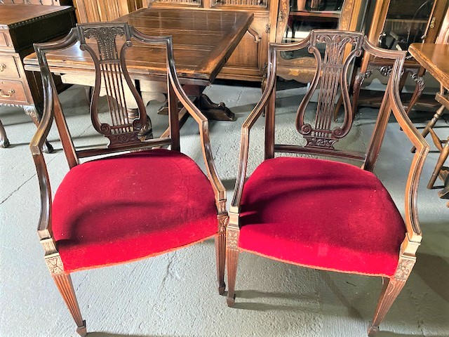 Pair of Arm Chair/20100401042