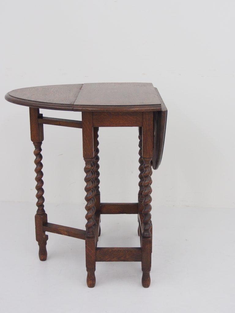 アンティーク家具 イギリスアンティーク家具 ゲートレッグテーブル バタフライテーブル テーブル サイドテーブル オークテーブル