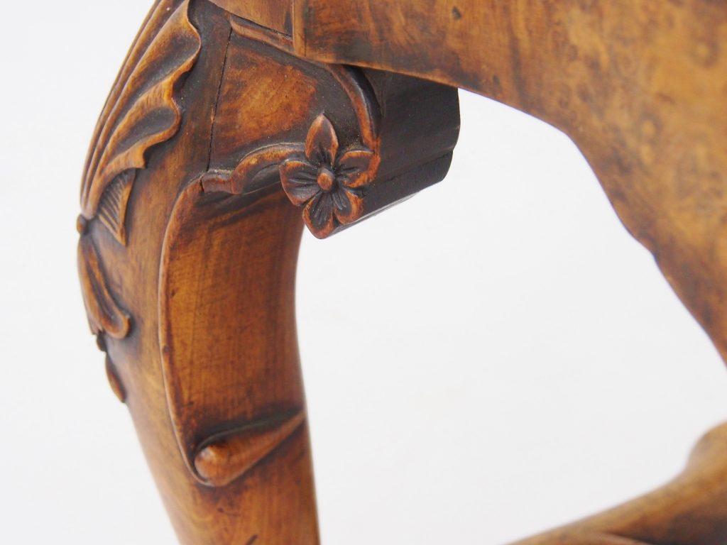アンティーク家具 サロンチェア チェア オランダアンティーク レイトジョージアン dutchchair クイーンアン