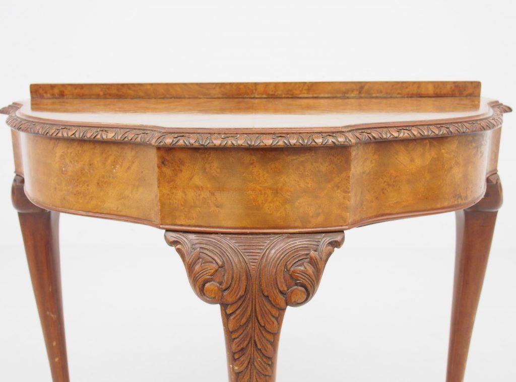 アンティーク家具 イギリスアンティーク家具 コンソールテーブル サイドテーブル ホールテーブル ウォルナットテーブル