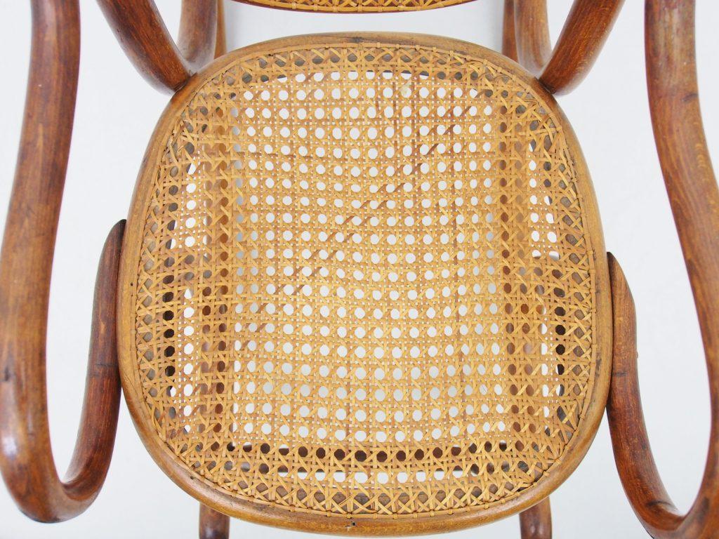 アンティーク家具 イギリスアンティーク ロッキングチェア キッズ 子供用 籐編みチェア