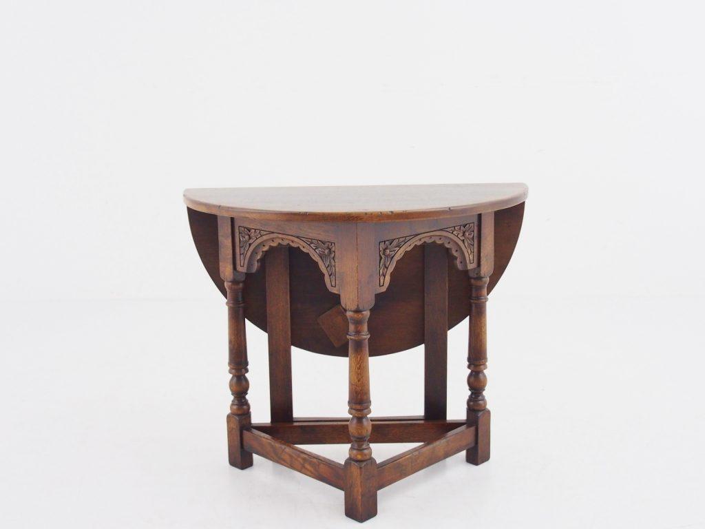 アンティーク家具 コーヒーテーブル ラウンドコーヒーテーブル オークコーヒーテーブル イギリスアンティーク