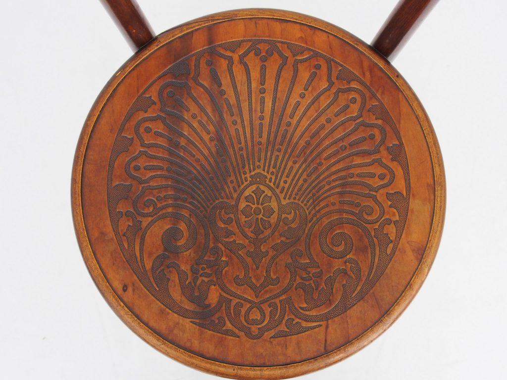 アンティーク家具 イギリスアンティーク ベントウッドチェア カフェチェア 曲げ木 アンティークチェア
