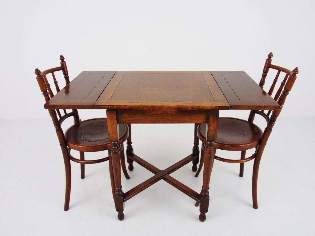 アンティーク家具 イギリスアンティーク ドローリーフテーブル カフェテーブル エクステンションテーブル テーブル