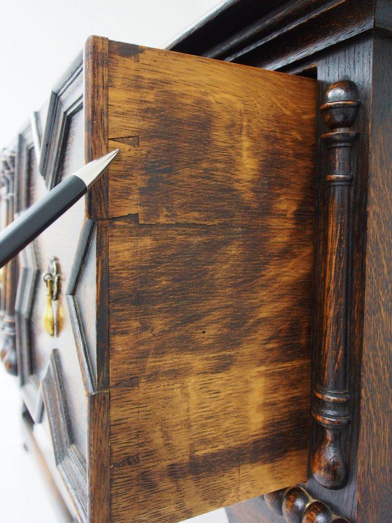 アンティーク家具 アンティーク イギリスアンティーク サーバー サイドボード 収納 テレビ台 オーク ジャコビアン