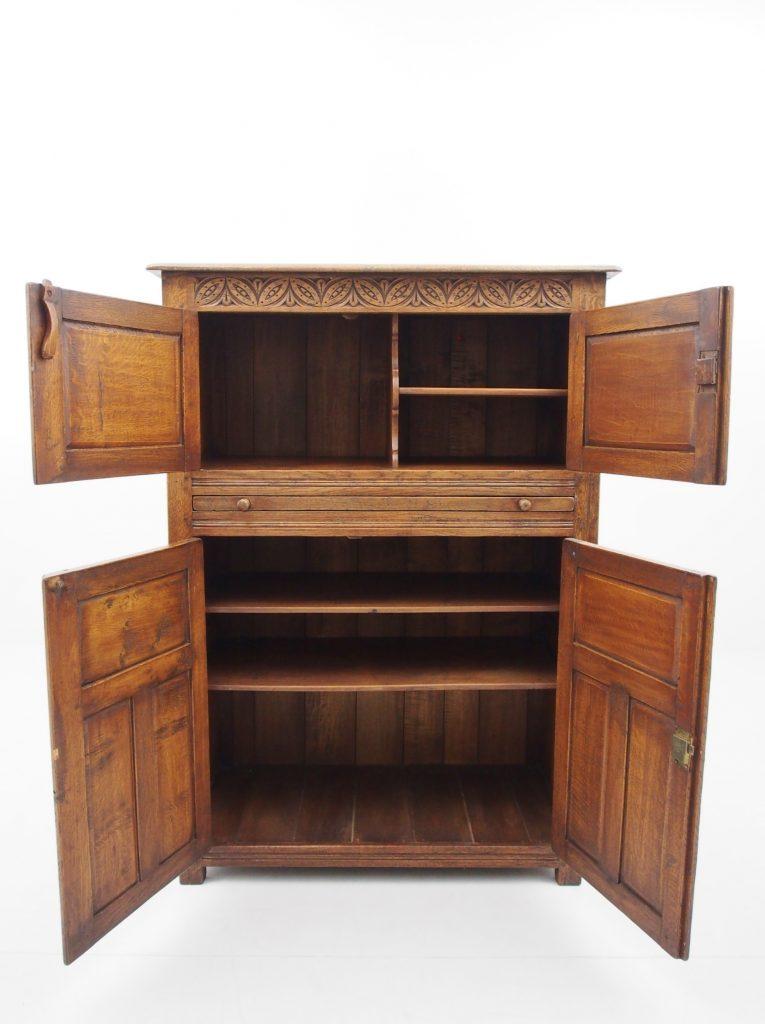 アンティーク家具 イギリスアンティーク カップボード 食器棚 収納 ティッチマーシュ titcihmarsh&goodwin