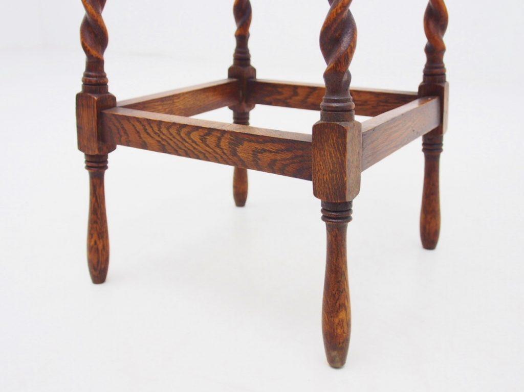 アンティーク家具 イギリスアンティーク サイドテーブル ランプテーブル オーク