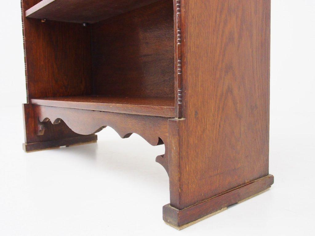 アンティーク家具 イギリスアンティーク オープンブックシェルフ 本棚 ブックシェルフ ブックケース