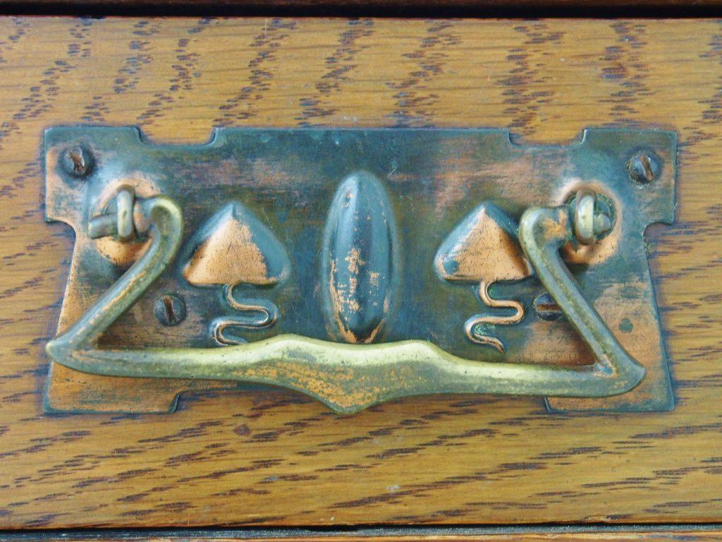 アンティーク家具 イギリスアンティーク ホールスタンド 玄関収納 artsandcrafts アーツアンドクラフツ