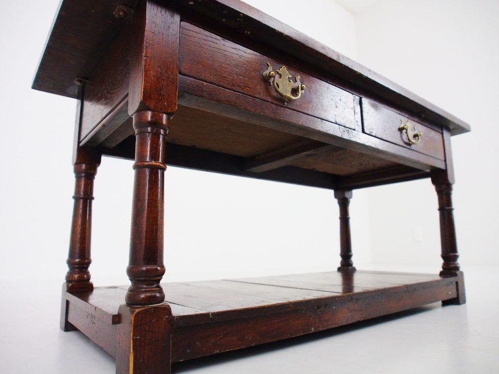 アンティーク家具 イギリスアンティーク テレビ台 コーヒーテーブル ローテーブル イギリスアンティーク