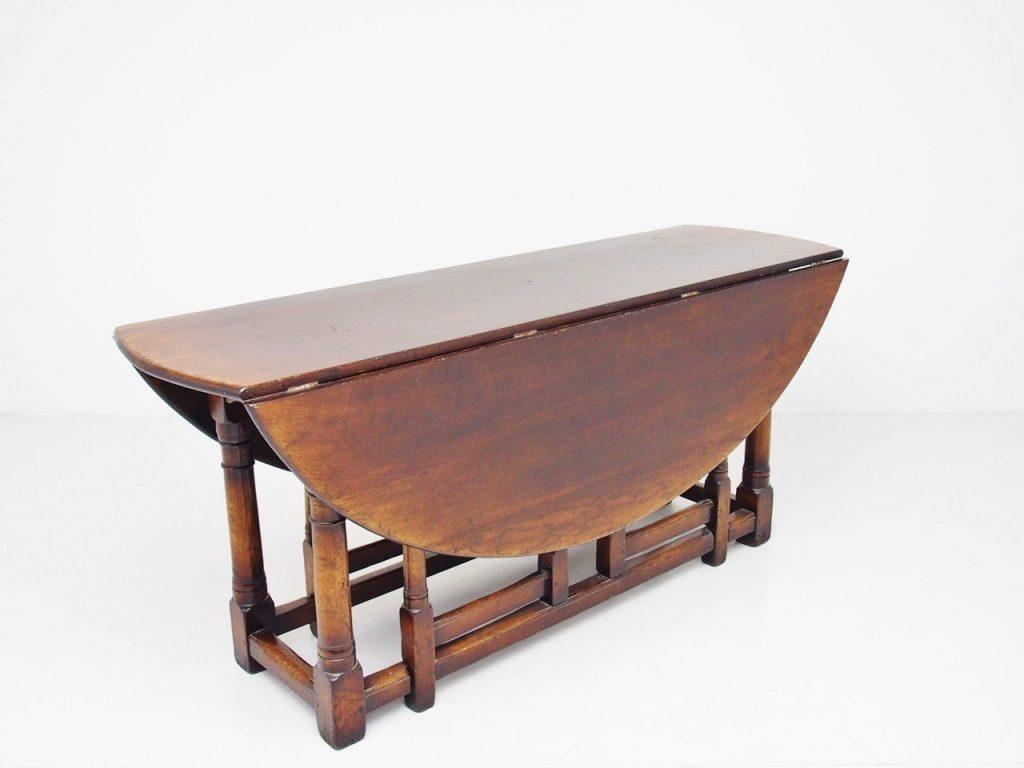 アンティーク家具 イギリスアンティーク ダイニングテーブル ゲートレッグテーブル バタフライテーブル ドロップリーフテーブル エクステンションテーブル