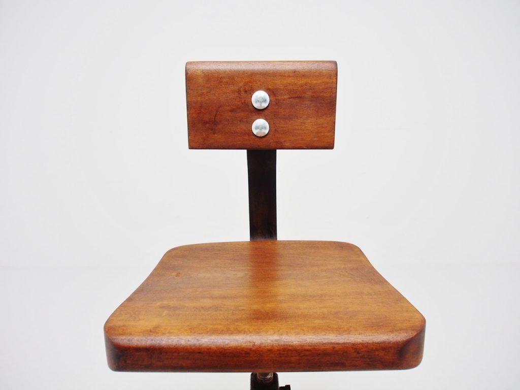 アンティーク家具 イギリスアンティーク SINGER シンガー ミシンチェア ワークチェア チェア ハイチェア
