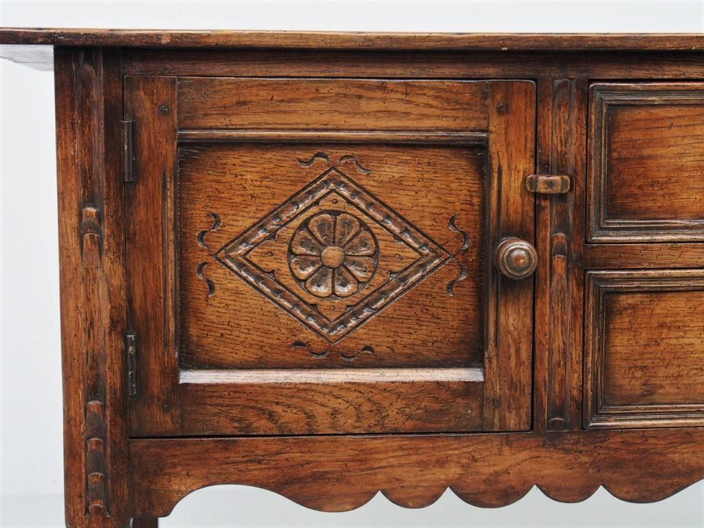 アンティーク家具 イギリスアンティーク サイドボード サーバー sideboard Ipswich oak テレビ台 収納