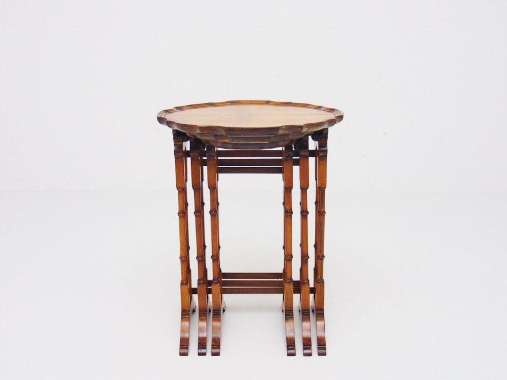 ラウンド ネストテーブル/19050106005