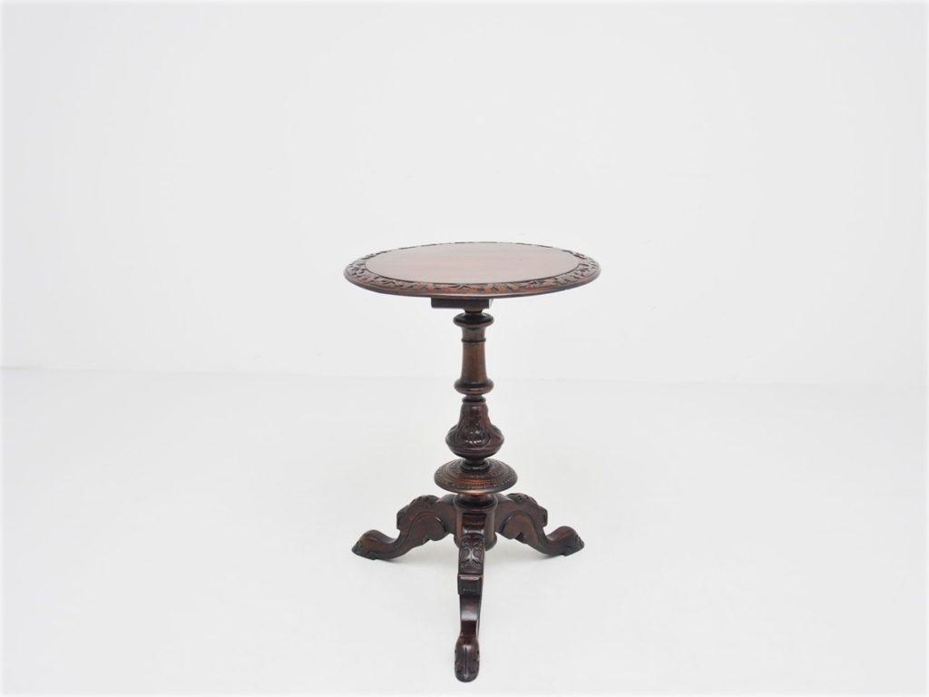 マホガニー トリポッド テーブル / 19120406029