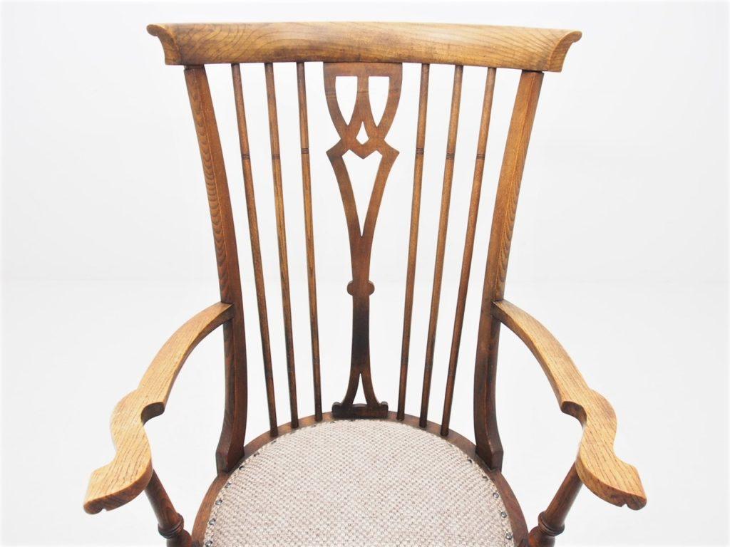 アンティーク家具 イギリスアンティーク カントリーチェア カントリーアームチェア アームチェア 椅子