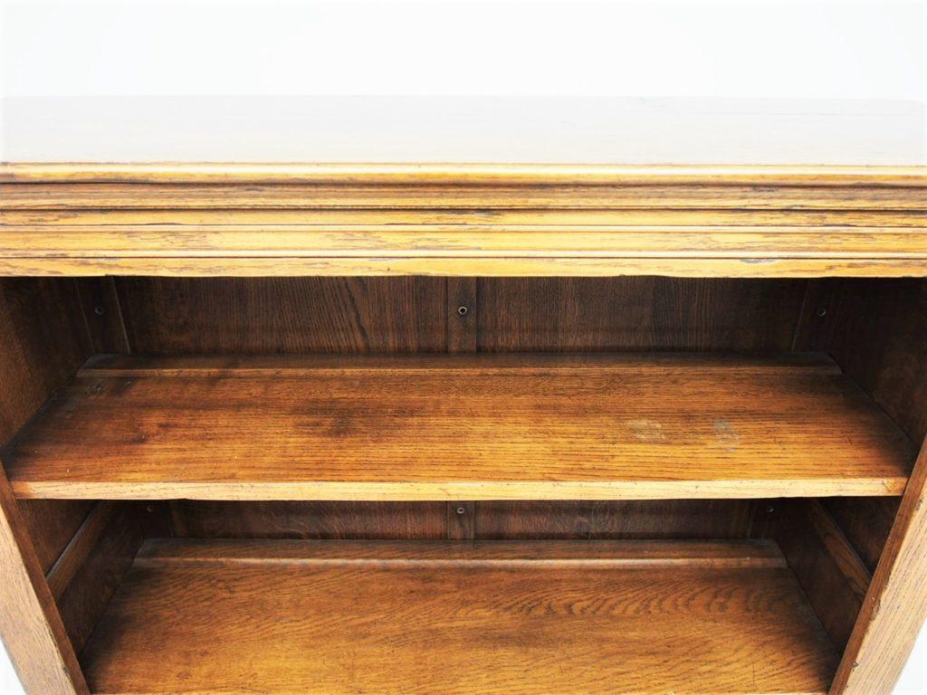 アンティーク家具 イギリスアンティーク ブックシェルフ オープンブックシェルフ ブックケース 本棚 ディスプレイ棚 本 収納 店舗什器
