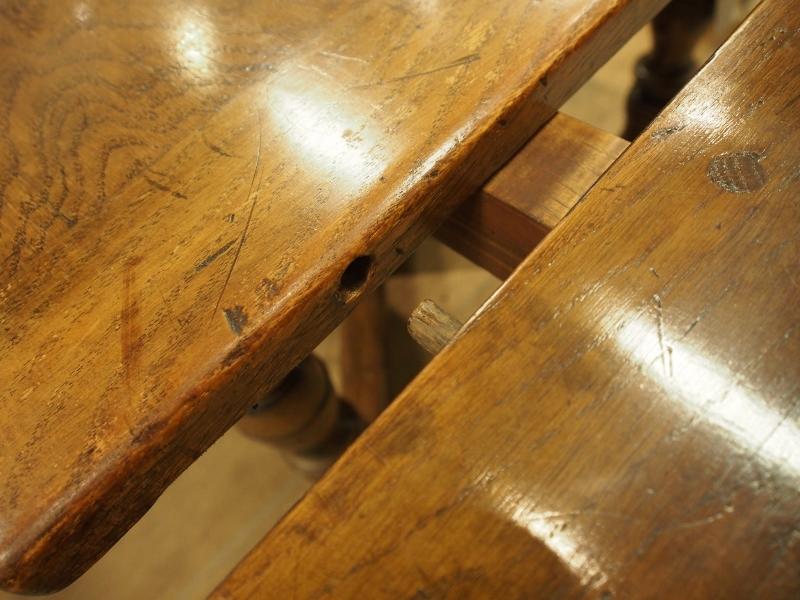 ドロウリーフテーブル アンティークダイニングテーブル アンティークファニチャー アンティーク家具 アンティーク大阪 アンティークショップ ソリッドオークテーブル TWIN ANTIQUES ツインアンティークス イギリスアンティーク イプスウィッチオーク