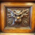 ライオンの装飾