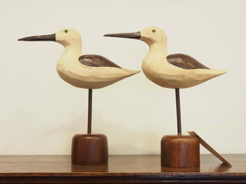 バード 鳥 鳥置物 ディスプレイ デコイ オブジェ アンティークデコイ アンティーク イギリスアンティーク
