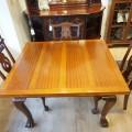 マホガニードロウリーフテーブル/16050402026