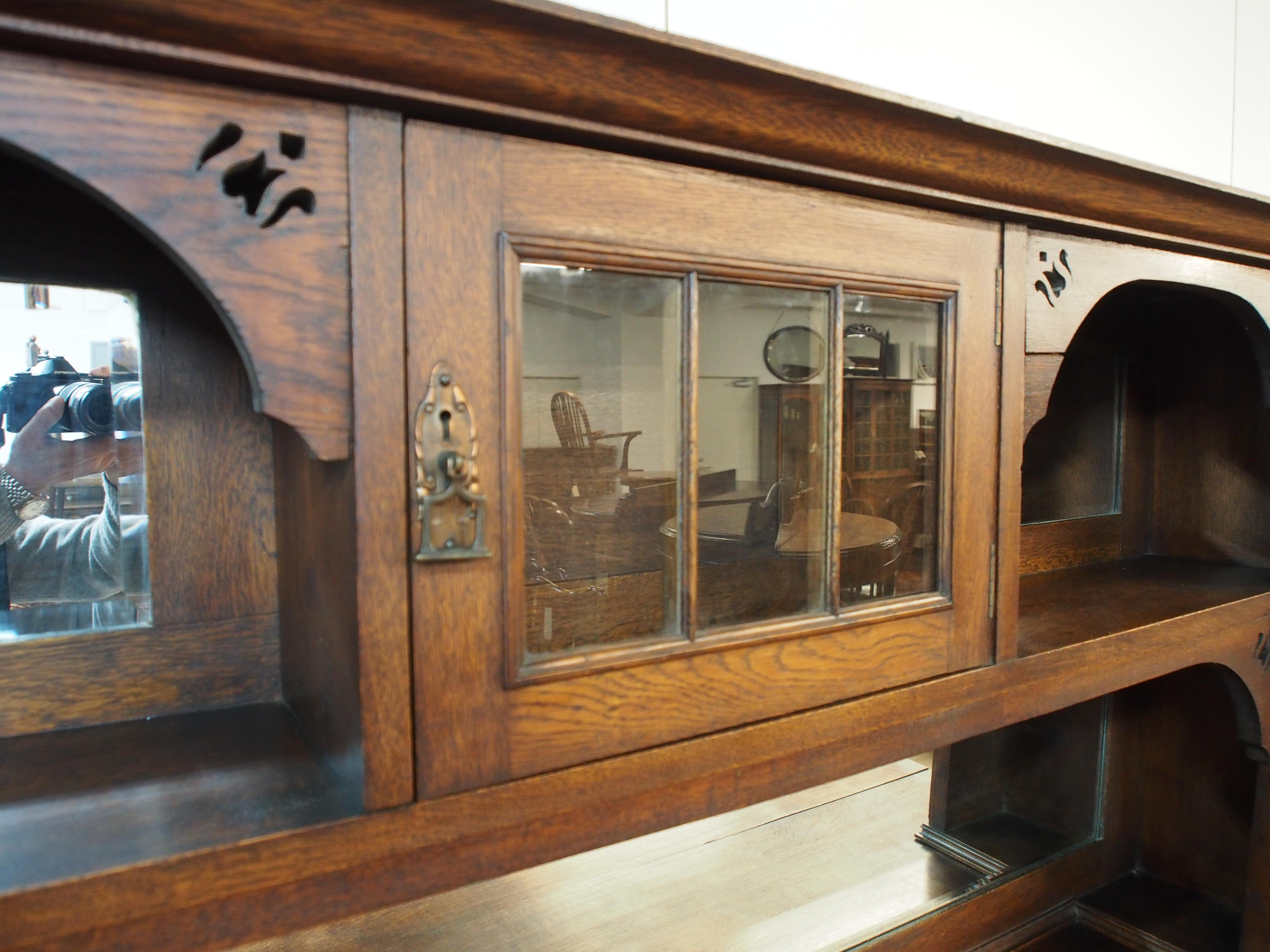 アンティーク家具 アンティーク サイドボード 収納 arts&crafts イギリスアンティーク