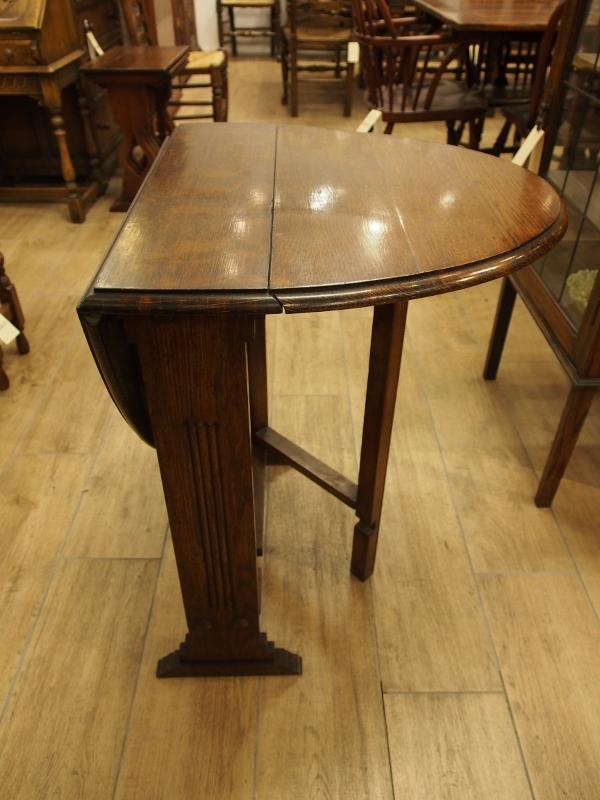 アンティーク家具 箕面 ダイニングテーブル テーブル 折りたたみテーブル オーバルテーブル ゲートレッグテーブル ドロップリーフテーブル ヴィンテージ ビンテージ家具 イギリスアンティーク イギリス 英国家具 イギリス家具