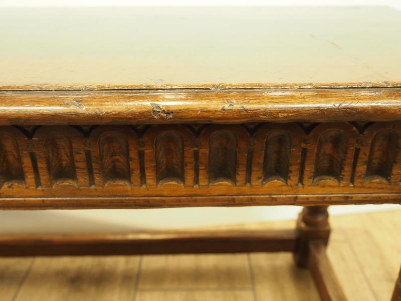 アンティーク家具 箕面 ベンチ 椅子 イプスウィッチ ヴィンテージ家具 ビンテージ家具 イギリスアンティーク家具 イギリス 英国家具 イギリス家具 ツインアンティークス