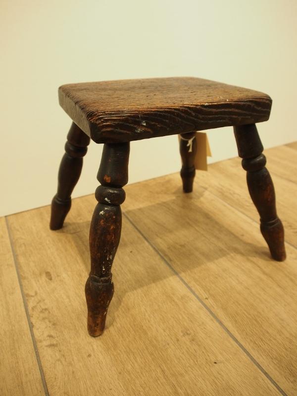 アンティーク家具 スツール イス 足置き 椅子 カントリーチェア イギリスアンティーク
