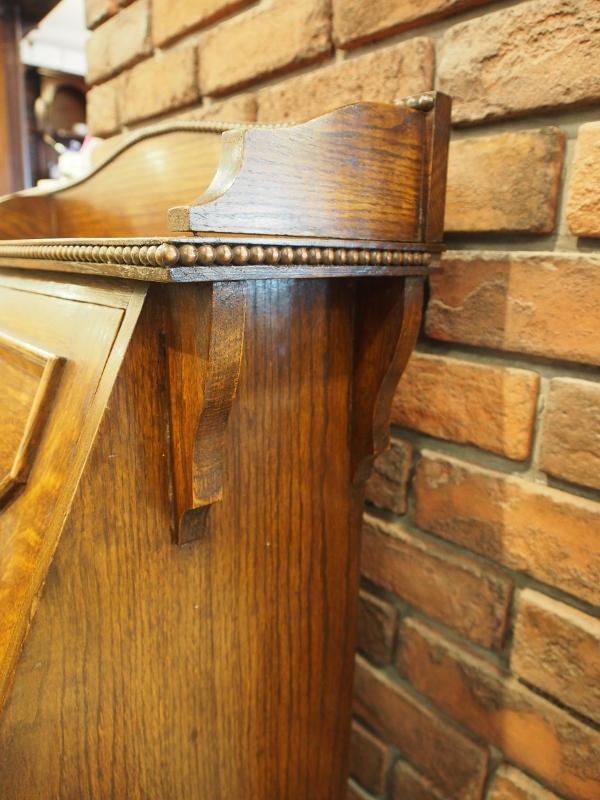 アンティーク家具 箕面 ビューロー デスク 机 カントリー ヴィンテージ家具 ビンテージ家具 イギリス イギリスアンティーク 英国家具 イギリス家具