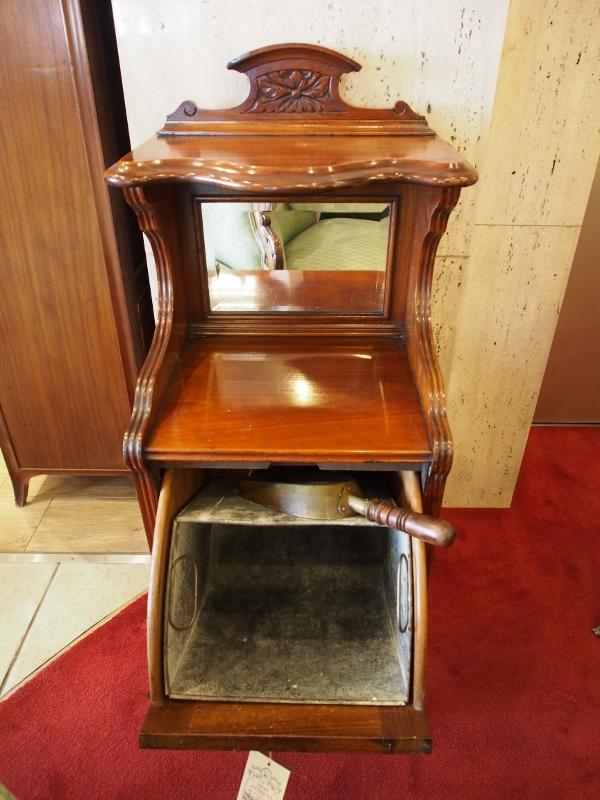 アンティーク家具 アンティーク コールキャビネット 暖炉 アカンサス ウォールナットキャビネット イギリスアンティーク