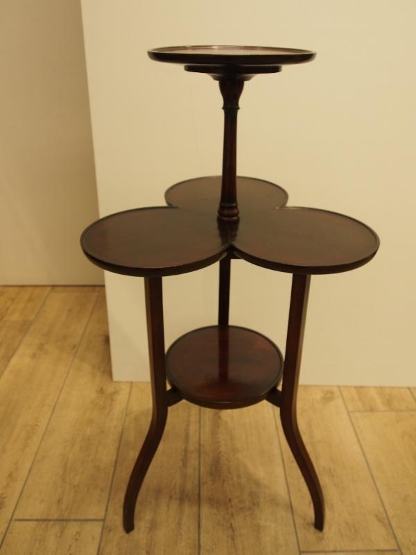 アンティーク家具 ケーキスタンド サイドテーブル ミニテーブル ティーテーブル 花台 イギリスアンティーク