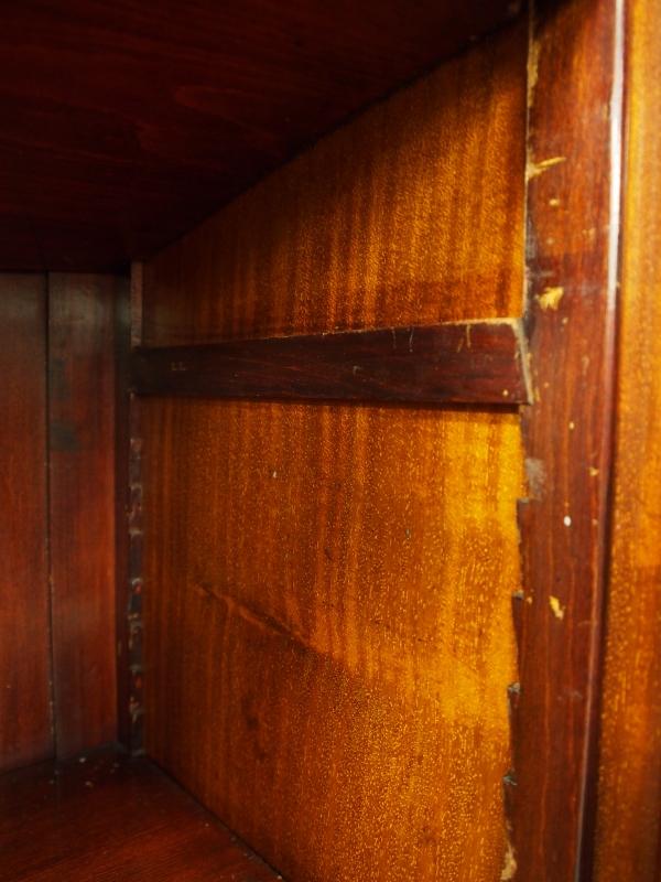 アンティーク家具 箕面 ブックケース 本棚 キャビネット ディスプレイ 収納 シェラトンスタイル カントリー ヴィンテージ家具 ビンテージ家具 イギリス イギリスアンティーク家具 英国家具 イギリス家具
