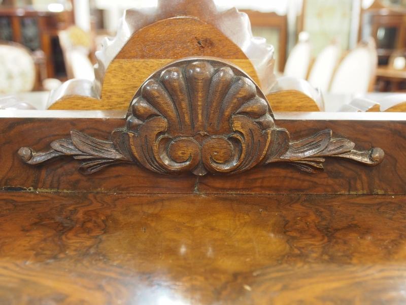 アンティーク家具 箕面 サイドボード 収納 ハアザミ アカンサス ウォールナット ヴィンテージ家具 ビンテージ家具 イギリスアンティーク家具 イギリス 英国家具 イギリス家具