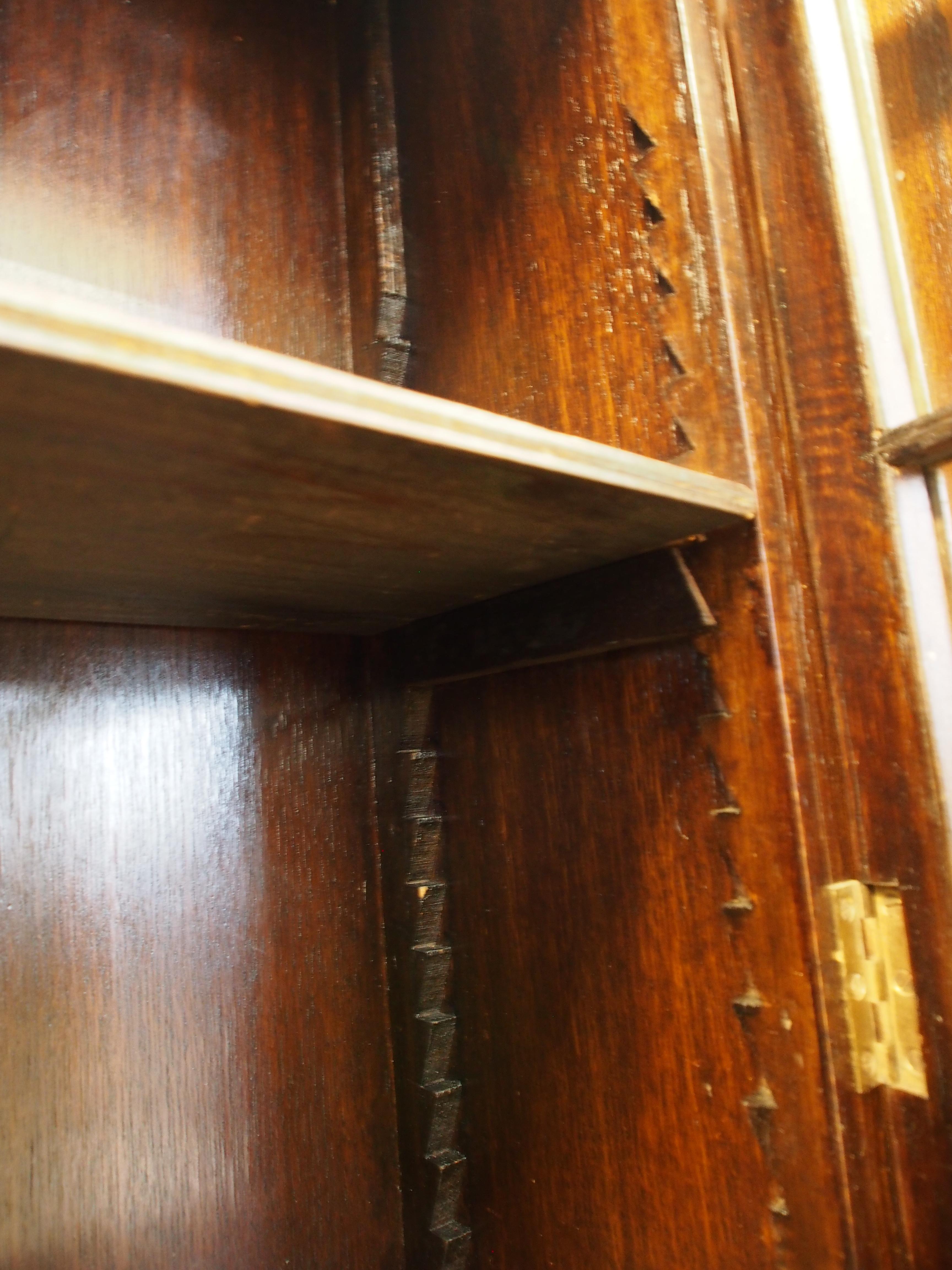 アンティーク家具 大阪 箕面 ブックケース 本棚 キャビネット ディスプレイ 収納 棚 オーク ヴィンテージ家具  ビンテージ家具 イギリスアンティーク家具 英国家具 イギリス家具 antique antiquefurnuture