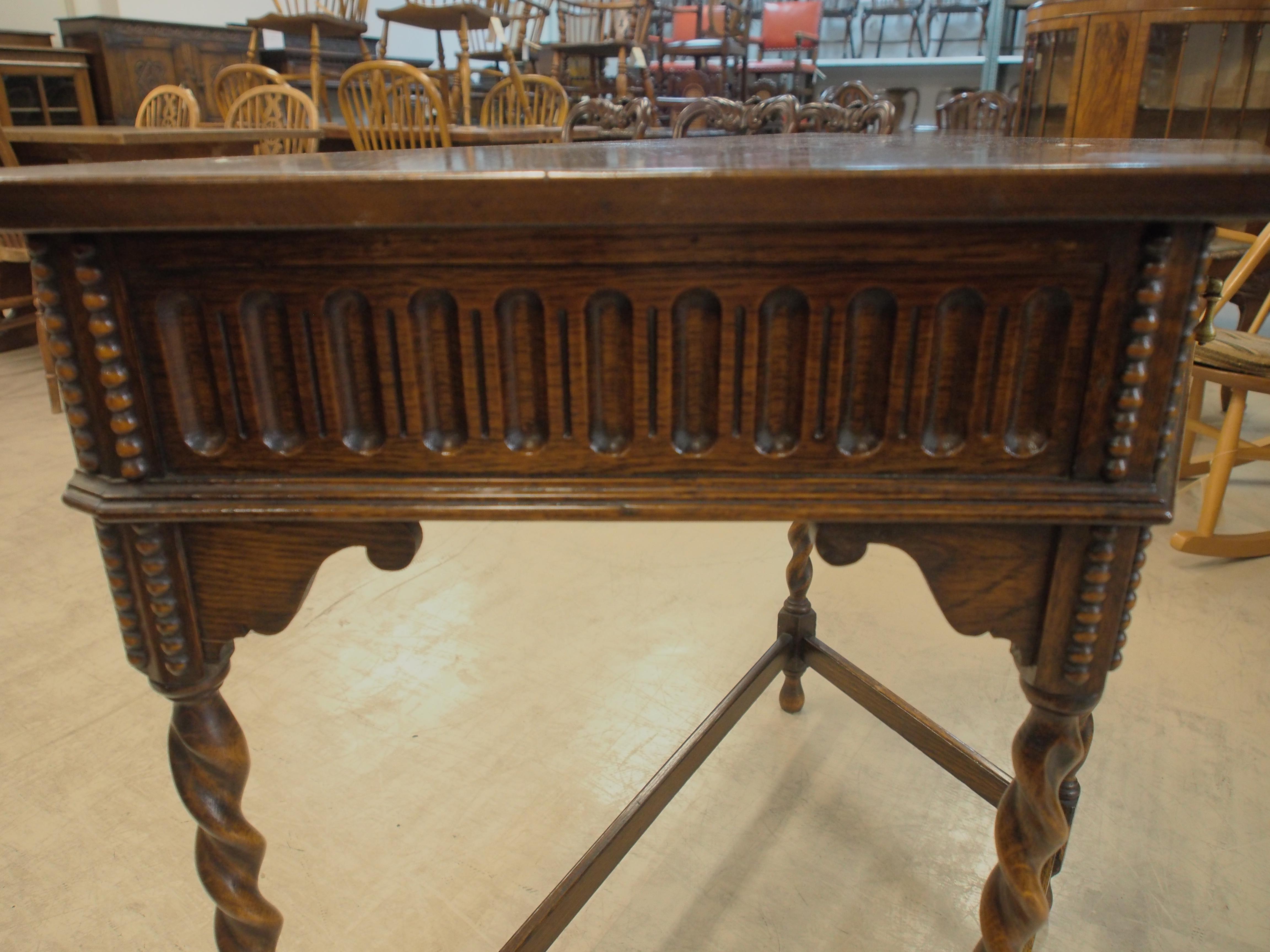 アンティーク家具 アンティーク ホールテーブル コンソールテーブル サイドテーブル ツイストレッグ イギリスアンティーク
