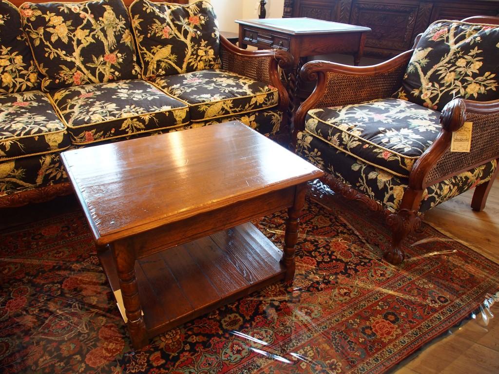 アンティーク家具 大阪 コーヒーテーブル テーブル ソファテーブル サイドテーブル イプスウィッチ Titchmarsh & Goodwin ティッチマーシュ オーク カントリー ヴィンテージ家具 ビンテージ家具 イギリスアンティーク イギリス 英国家具 イギリス家具