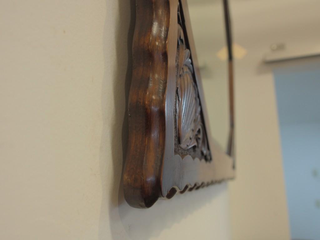 アンティーク家具 大阪 ウォールミラー 壁掛けミラー ミラー ウォールナット ヴィンテージ家具 ヨーロッパ家具 イギリス家具 イギリスアンティーク家具 antique 英国 英国家具 関西 箕面