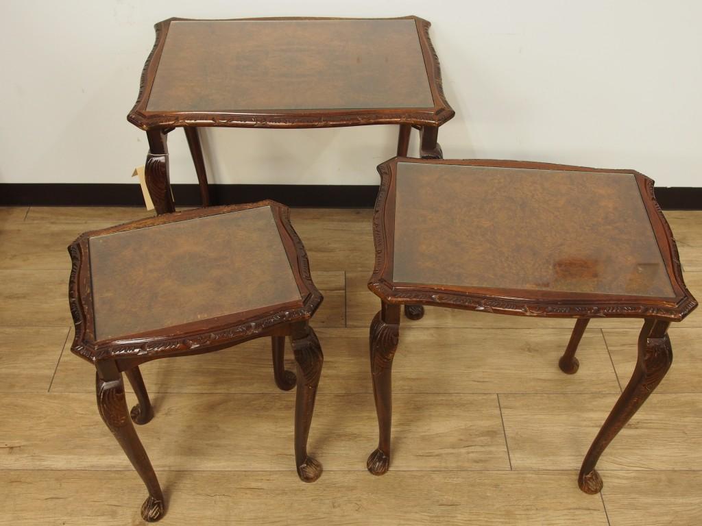 アンティーク家具 ネストテーブル コーヒーテーブル テーブル ソファテーブル サイドテーブル ツインアンティークス