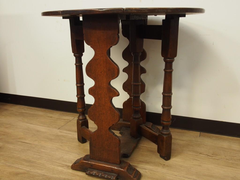 アンティーク家具 コーヒーテーブル ドロップリーフテーブル ゲートレッグテーブル サイドテーブル ミニテーブル ツインアンティークス