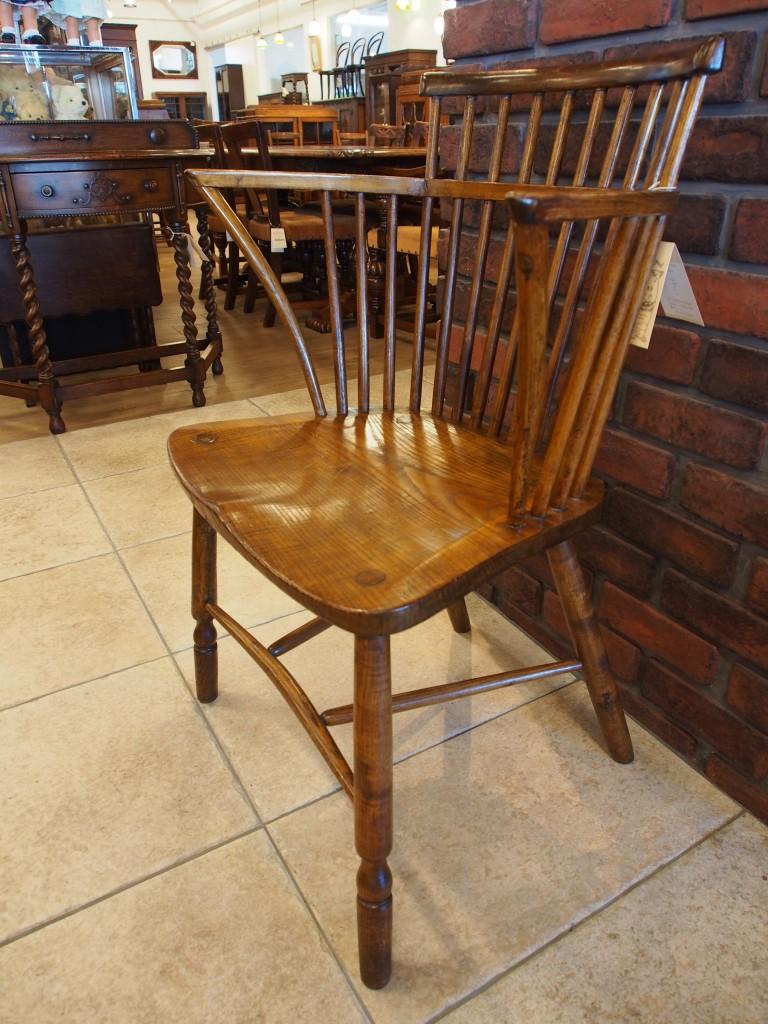 アンティーク家具 ウィンザーチェア コムバック アームチェア 一人掛け 椅子 ツインアンティークス