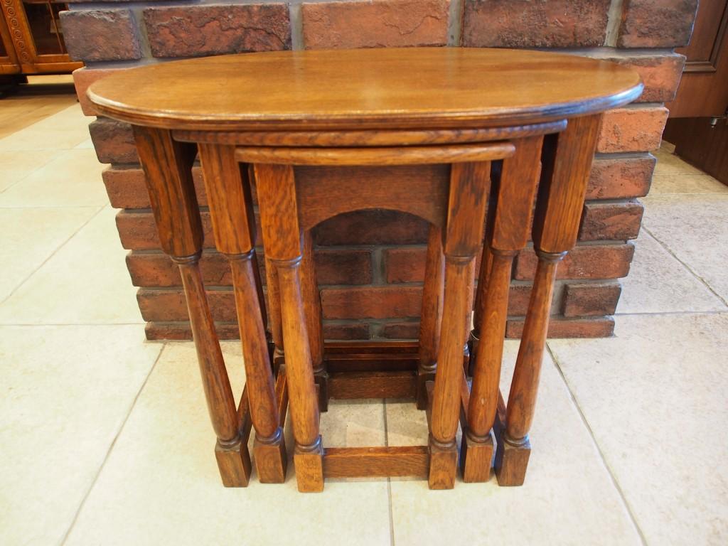 アンティーク家具 アンティーク ネストテーブル コーヒーテーブル ソファテーブル サイドテーブル テーブル ツインアンティークス