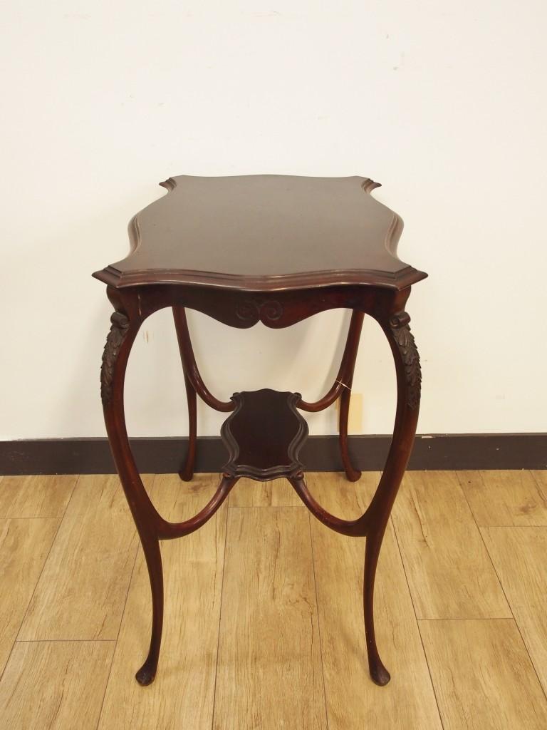 アンティーク家具 アンティーク オケージョナルテーブル テーブル サイドテーブル マホガニー ツインアンティークス 大阪