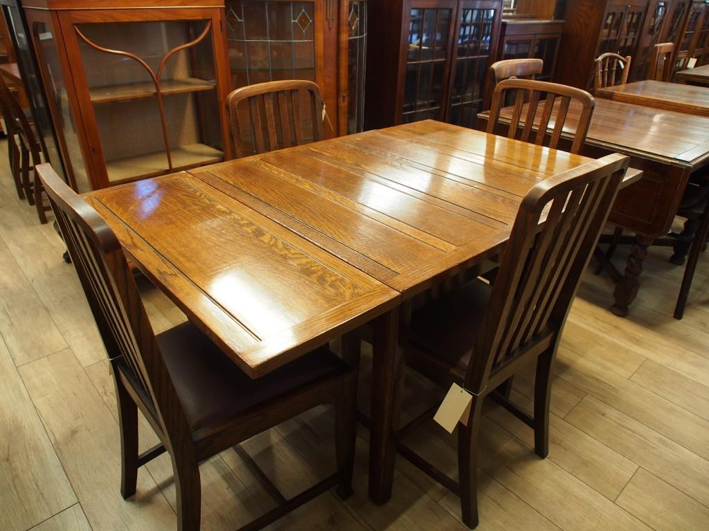 アンティーク家具 アンティーク ドローリーフテーブル テーブル ダイニングテーブル 伸縮式テーブル ツインアンティークス width=