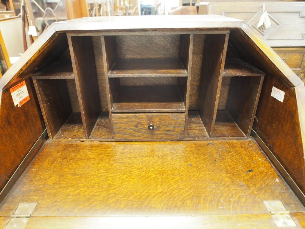 アンティーク家具 アンティーク ビューロー 机 ドレッサー 収納 ツインアンティークス