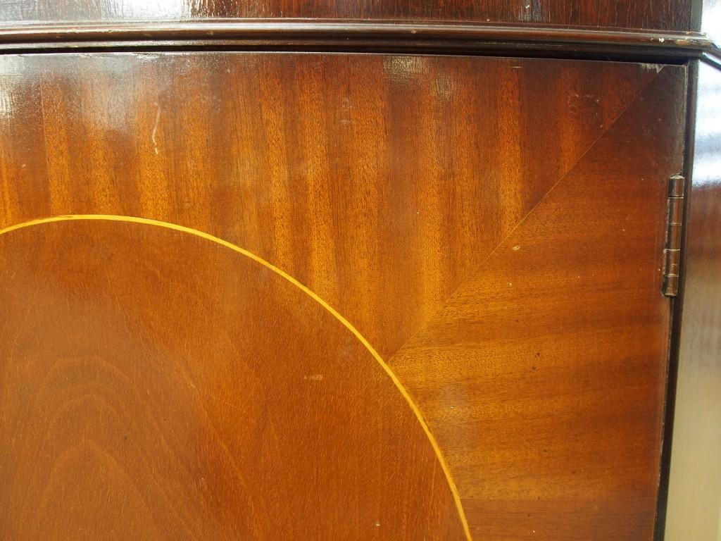 アンティーク家具 アンティーク コーナーキャビネット 角 コーナー収納 キャビネット ツインアンティークス