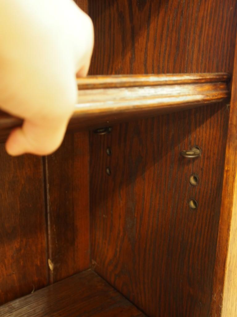 アンティーク家具 アンティーク ブックケース オープン 棚 ディスプレイ ツインアンティークス