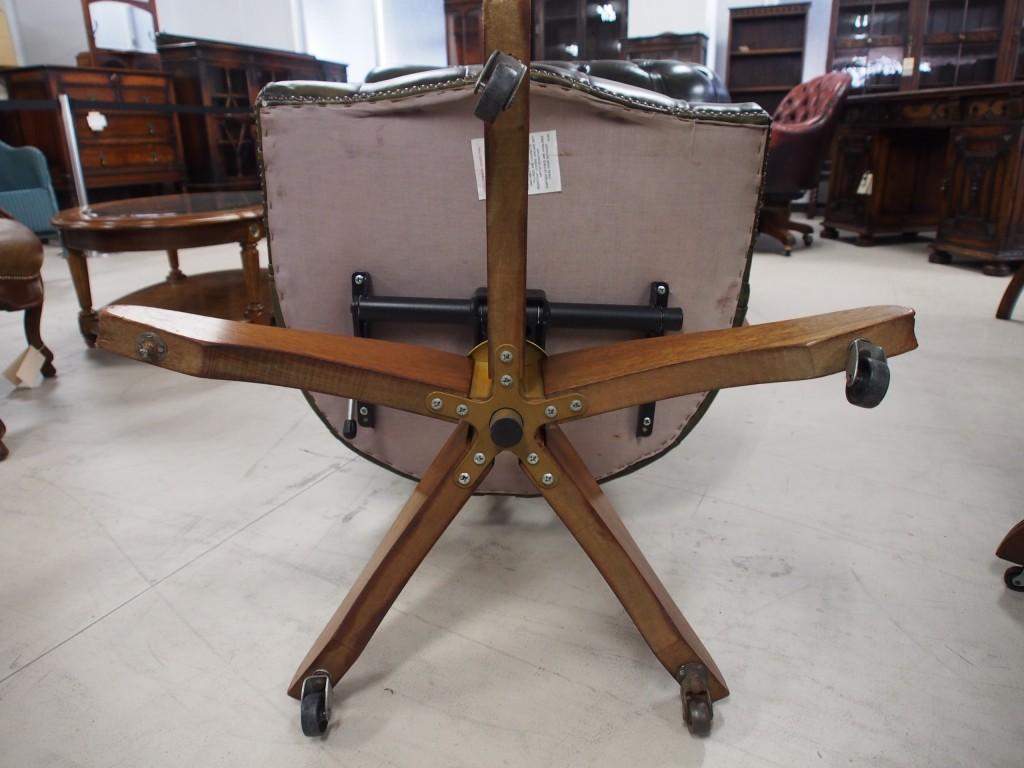 アンティーク家具 アンティーク デスクチェア アームチェア 椅子 ツインアンティークス