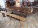 アンティーク家具 アンティーク 大阪 リフェクトリーテーブル ダイニングテーブル テーブル ツインアンティークス