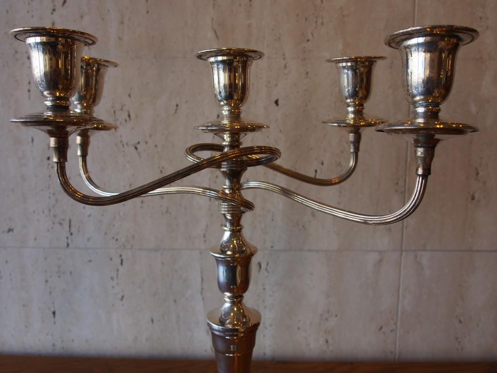アンティーク家具 アンティーク 燭台 5灯 キャンドルスタンド キャンドルホルダー キャンドル ツインアンティークス